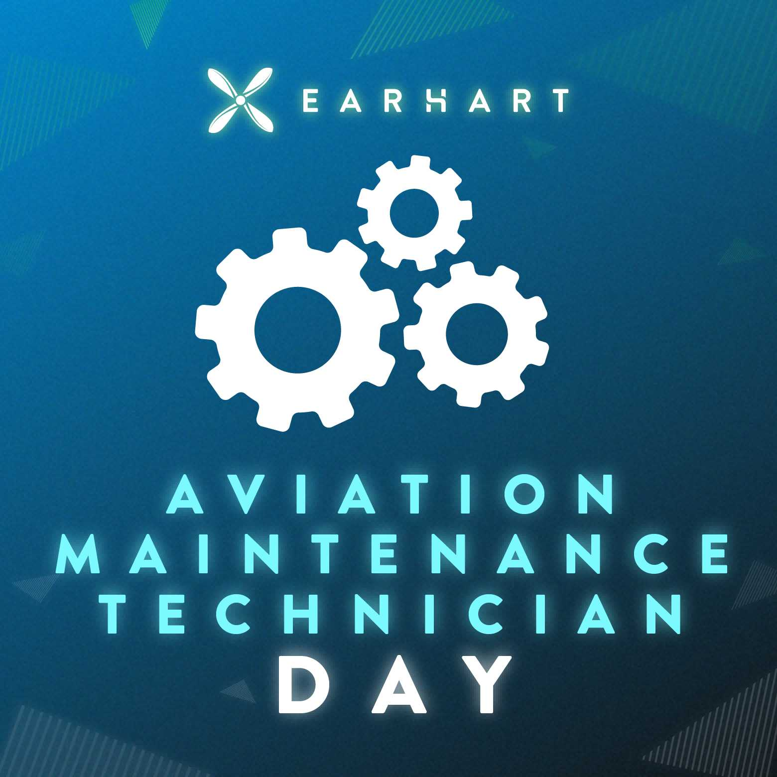 Today is the Aviation Maintenance day - something ..